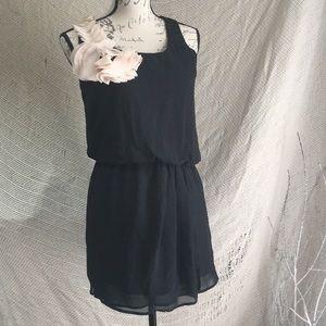 Express classic black dress